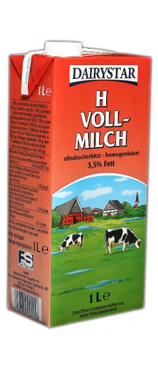 H-Milch 3,5% 12x1l