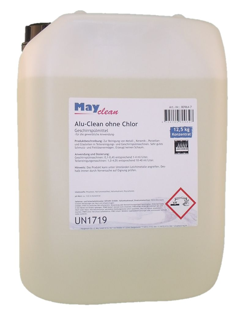 Mayclean Aluclean ohne Chlor, 12,5kg